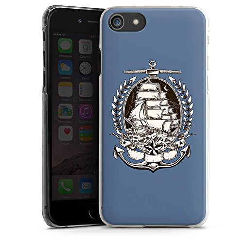 Apple iPhone X Silikon Hülle Case Schutzhülle Schiff Meer Seefahrer Hard Case transparent