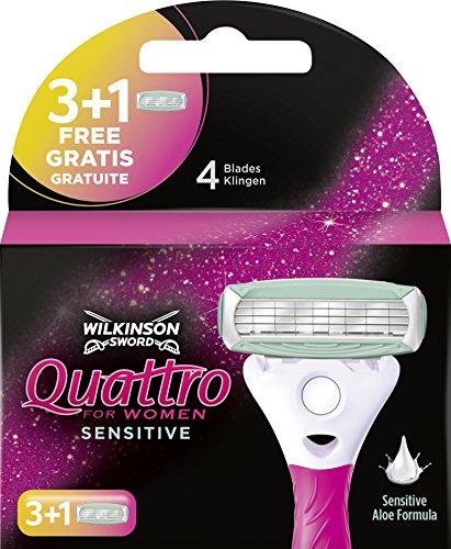 Wilkinson Sword Quattro For Women Sensitive - 3 +
