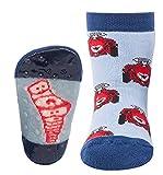 Ewers Baby- und Kindersocken Gr. 18-34 (Mehrere Farben) - (1 Paar) Socken mit Antirutschsohle für Mädchen und Jungen