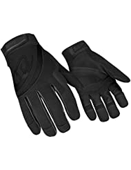 Ringers Rope Rescue Gloves , All Black