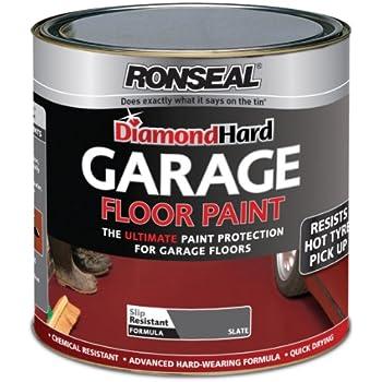 Ronseal Dhgfpsl5l Diamond Hard Garage Floor Paint Slate 5