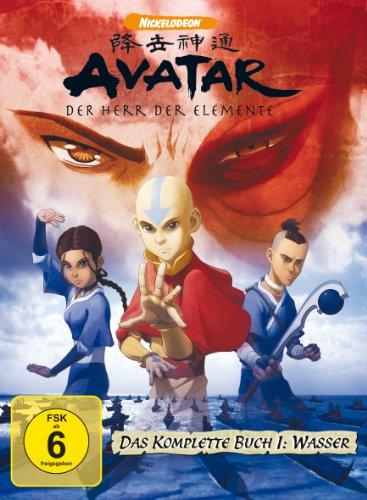 Avatar - Der Herr der Elemente, Das komplette Buch 1: Wasser [5 DVDs] (World Series 2005)