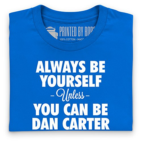 Always be Dan Carter T-Shirt, Herren Royalblau
