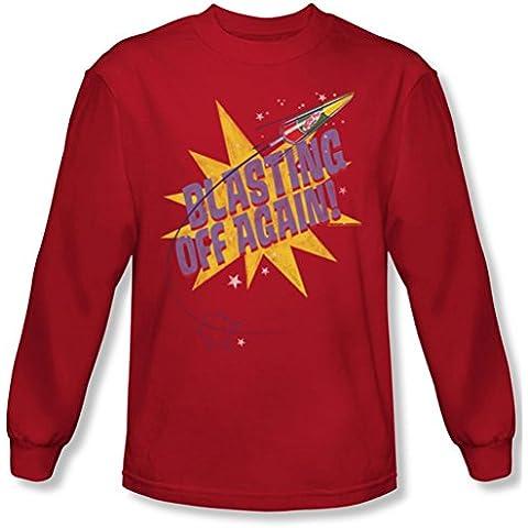 Astro Pop-Blast Off-Maglietta a maniche lunghe da