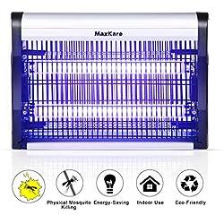 MaxKare Lampe Anti Moustique, Lampe Moustique - UV Lampe Pièges à Moustiques pour intérieur, Destructeur de Moustique Lamp Électronique (20W), Piege a Efficace Portée 80m2