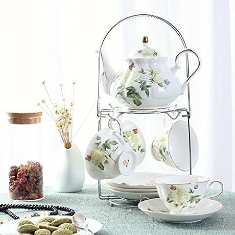 KHSKX Ceramica di tazza da caffè set