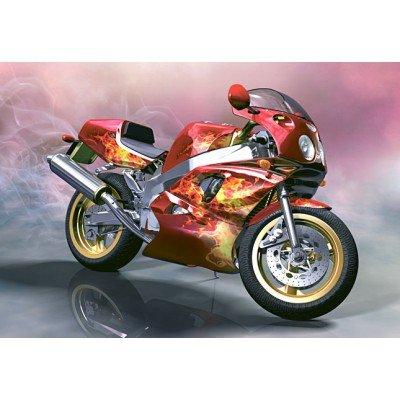 Puzzle 260 pièces : Moto Yamaha FZR-750 R