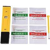 XCSOURCE® Medidor de pH Digital Probador Tamaño de bolsillo Portable Medición Pen Acuario Agua Acuática Hidroponía Vino BI574