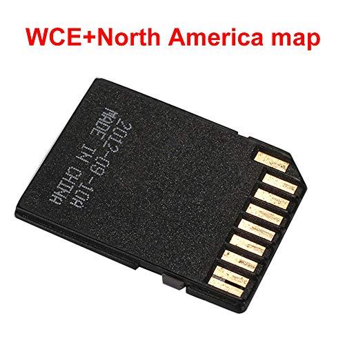 Haihuic Australien GPS-Navigationskarte Windows CE-System 16 GB Speicherkarte für In-Dash-Autoradio-DVD-Player GPS Navigator