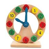 JUNGEN Holzspielzeug Kinder Uhr Spielzeug Bausteine Digitale Baby Pädagogischen Lernspielzeug