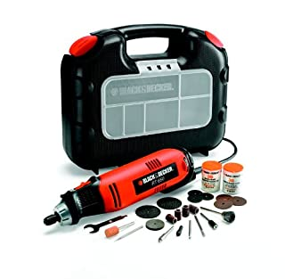 BLACK+DECKER RT650KA-QS - Multiherramienta oscilante, 90 W, con 87 accesorios y maletín (B004QWACNI) | Amazon price tracker / tracking, Amazon price history charts, Amazon price watches, Amazon price drop alerts