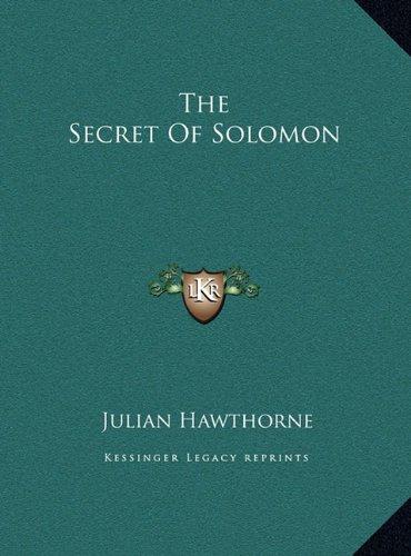 The Secret of Solomon