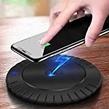 QDXIAO Chargeur sans Fil, 10W Universel Rapide Wireless Charger Pad, Chargeur à...