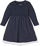 Blue Seven Baby-Mädchen Kleid 963014 X, (Dk Blau Orig 575), 80