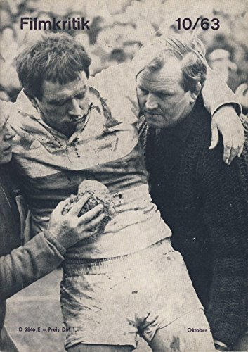 Sporting Life Richard Harris (Filmkritik 10/1963. Aktuelle Informationen für Filmfreunde. Titel: Richard Harris in