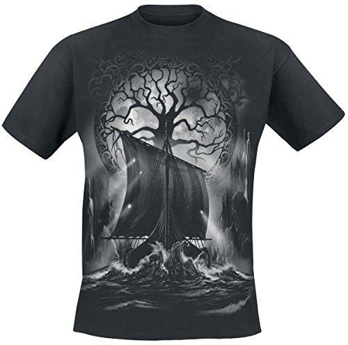 Toxic Angel Naglfar T-Shirt nero XL