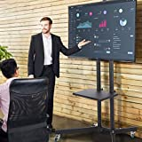 """Supporto TV Staffa Floor Stand Mobile TV a pavimento con ruote per LCD LED Plasma 32"""" - 65"""" pollici (#1)"""