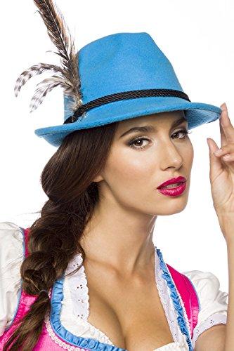 Kopfbedeckung Trachten (Trachtenhut Hut Tracht Trachten Oktoberfest München Kordel Hutkordel Blumen Bayern Dirndl Zubehör Kopfbedeckung in 5)