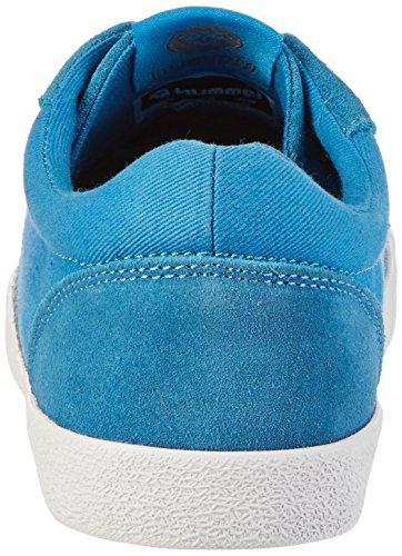 HummelDEUCE COURT SUMMER - Scarpe da Ginnastica Basse Unisex – Adulto Blu (Cendre Blue)