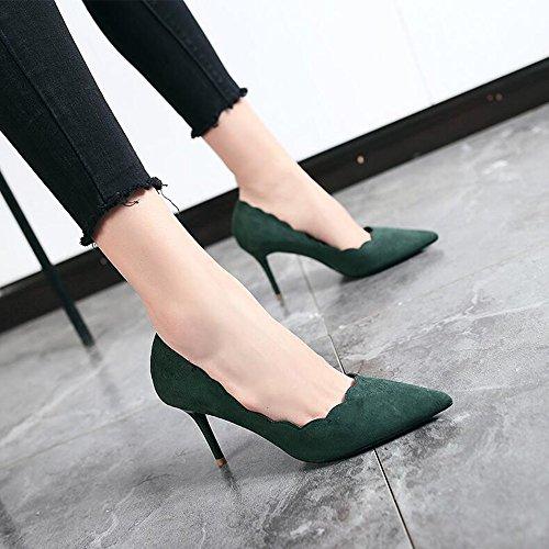 YIXINY , Damen Pumps grün grün EU36/UK3.5/CN35