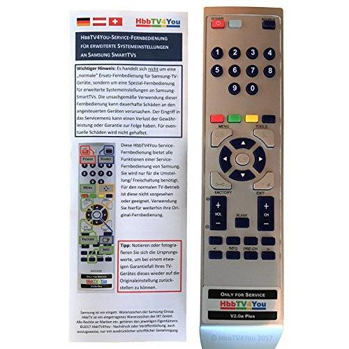 HbbTV4You Service Fernbedienung V20 Plus Fur Samsung J Serie