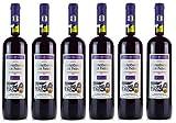 6x Mavrodaphne Rot Imperial Mavrodafne aus Patras Griechenland a 750 ml 15% Vol. Dessertwein roter Likörwein griechischer Rotwein Süß-Wein Likör + 2 Probier Sachets Olivenöl aus Kreta a 10 ml