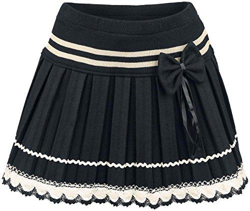 innocent-bow-lace-mini-minirock-schwarz-weiss-s