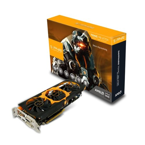 Price comparison product image Sapphire R9 270X 2GB Toxic 1100MHz GDDR 5 PCI Express Graphics Card