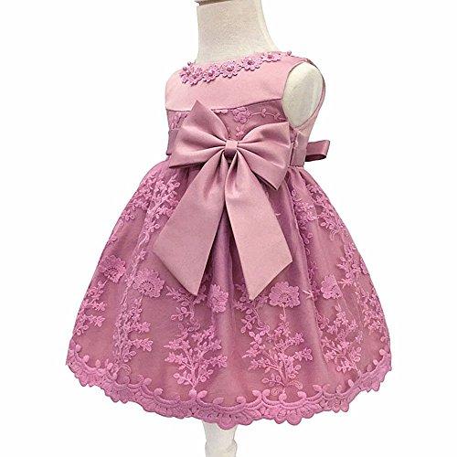 03cd910667 LZH Bebé Infantil Niñas Vestido de Bautizo de Cumpleaños Bautismo Vestido de .