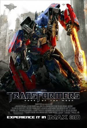 TRANSFORMERS 3 DARK OF THE MOON - Imported Movie Wall Poster Print - 30CM X 43CM Brand New OPTIMUS PRIME
