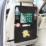 Auto Rückenlehnenschutz– Intipal Rücksitztasche Rücksitz Organizer Rückenlehnentasche mit iPad-Fach Wasserdicht 1 Stück (Löwe)