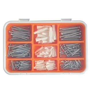 Ikea FIXA 260-Piece Screw and Plug Set by IKEA (English Manual)