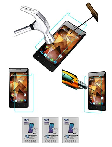 Acm Pack of 3 Tempered Glass Screenguard for Spice 511 Pro Screen Guard Scratch Protector  available at amazon for Rs.279