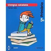 Llengua catalana. 5 Primària. Construïm. Illes Balears - 9788466135092