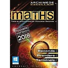 MATHS - Archimède Excellium 2018 pour Windows (XP, 7, 8, 10)