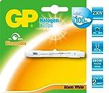 GB Batteries 720LIN80R7S78C1 D, Halogen-Leuchtmittel, Glas, 80 W, R7s, warmweiß, 7,8 x 0,8 x 0,8 cm