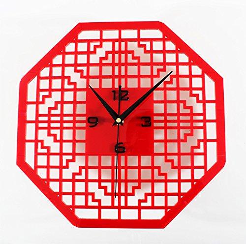 nism Design Home Vintage Modische Schlafzimmer Ruhig Schlafen Fashion Geschenk Kunst Im Chinesischen Stil Rotes Achteck (Achteck-spiegel)