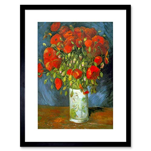 Wee Blue Coo Van Gogh Red Poppies Old Master Lámina