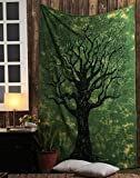 #8: Tapestry Lovers Life of Tree Tapestry Wall Decoration Tapestry Wall Hanging, Bedsheet Beach Blanket Boho Tapestry 54 X 84 Inches Twin Size