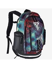 Nike Kobe Max Air XI Backpack - Mochila para hombre, color gris / rojo / blanco, talla única