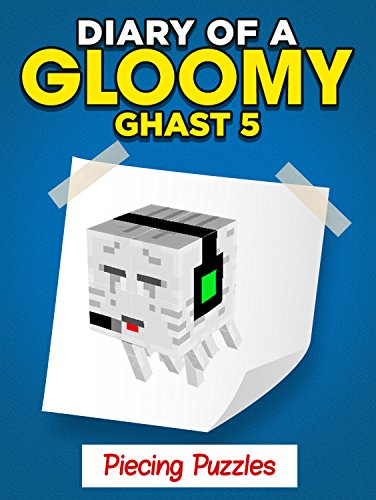 a Minecraft Gloomy Ghast - Piecing Puzzles