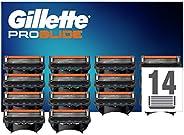 Gillette ProGlide Cuchillas de Afeitar Hombre con Tecnología FlexBall, Paquete de 14 Cuchillas de Recambio