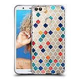 Head Case Designs Ufficiale Micklyn Le Feuvre Marocchino Speziato Modelli 7 Cover Morbida in Gel per Huawei P Smart/Enjoy 7S
