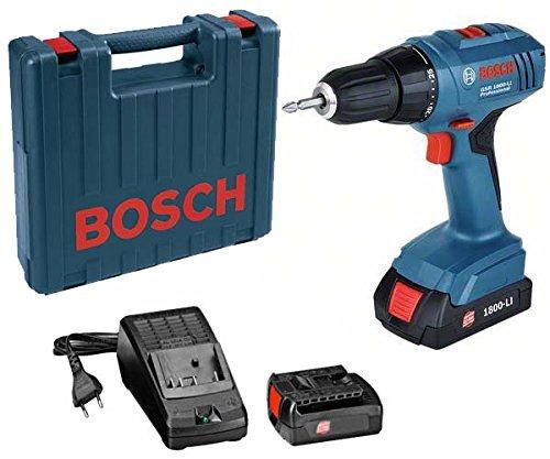 Bosch 06019E6120 GSR 18-2-LI Plus Elektrowerkzeuge, 1 W, 18 V