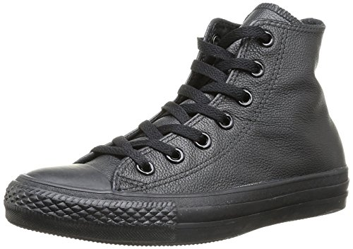 CONVERSE Chuck Taylor All Star Hi Unisex-Adult Trainers 014530-610-8 Black 9.5 UK, 43 EU