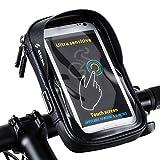 SAVORI Sac de Guidon de Vélo, Sac de Téléphone Portable de Cadre de Bicyclette Sac...