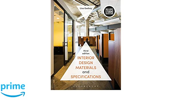 Interior Design Materials And Specifications Bundle Book Studio Access Card Amazoncouk Lisa Godsey 9781501321764 Books