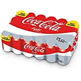 Coca Cola Light Refresco - Paquete de 24 x 330 ml - Total: 7920 ml