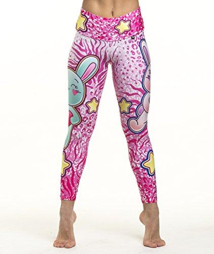 Fitnesschic - Bang Mimosa - Collants Femmes Multicolor