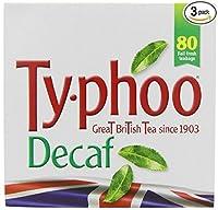Typhoo Decaf 80 Bags 3 Pack by Typhoo [Foods]